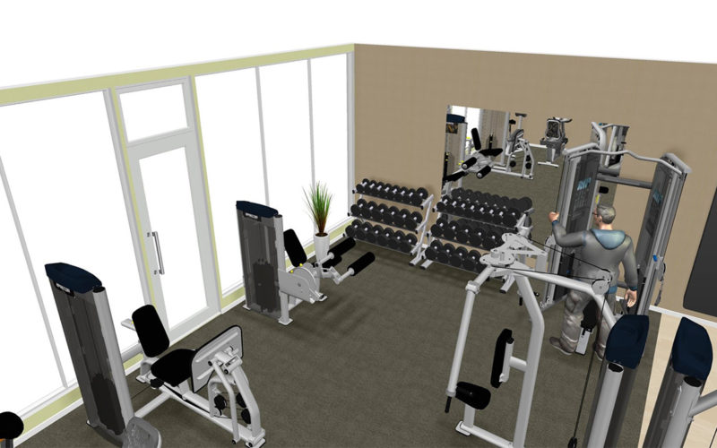 fitness-center-at-EastVillage-townhomes-Norman