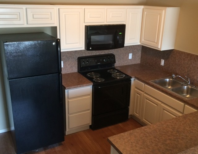 spacious kitchens in East Village condos Norman OKC