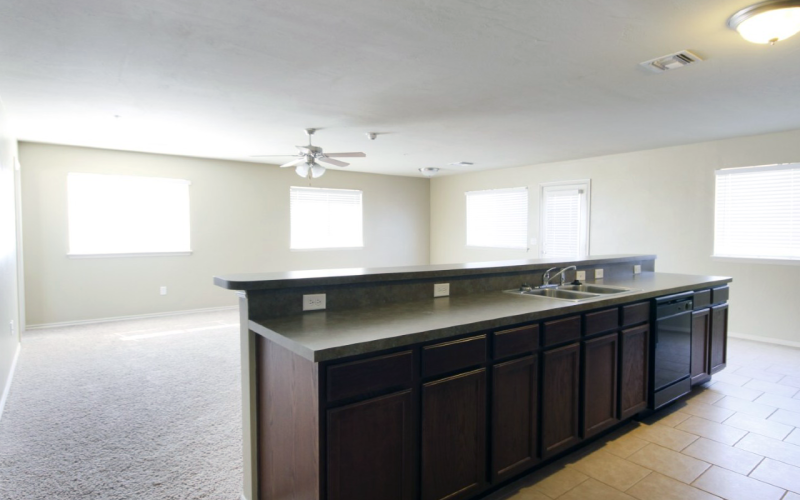 Designer Kitchens at East Village Condos and Townhomes Norman OKC