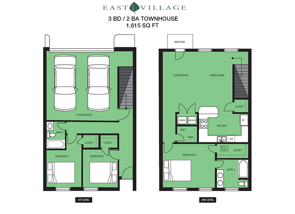 Norman condos townhouse floorplans for rent east for House plans oklahoma